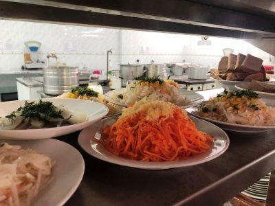 Асортимент салатів