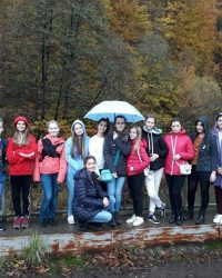 Туристично-екологічна подорож до західної України учнів 8-А класу