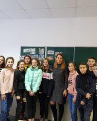Відкритий урок української літератури у 8-Б класі
